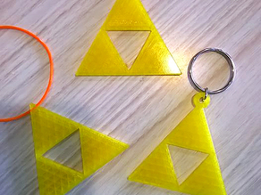 Triforce Ornament from Legend of Zelda