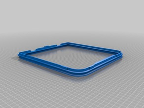 Ultimaker 3 Glass Door Spacer (Mount or Frame)