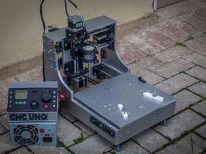 3D Printed Desktop CNC Milling Machine