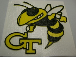 GA Tech Logo sign