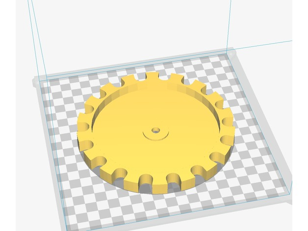 45 collator bullet feeder plate by mindwreck - Thingiverse