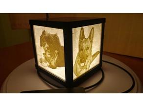 Litophane lamp