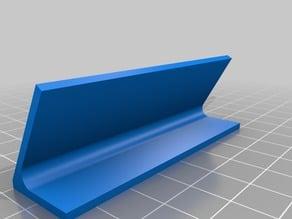 3D Testbench sticker holder