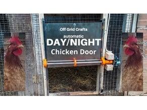 Off Grid Automatic Solar Chicken Coop Door