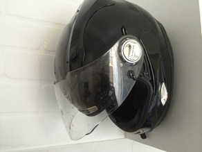 motorcycle helmet wall bracket