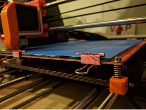 Geeetech prusa bed calibration clip