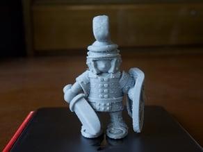 standing Roman soldier