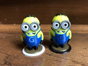 minion chess set (multi-material)