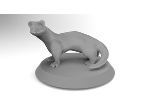 Giant Weasel miniature for DnD