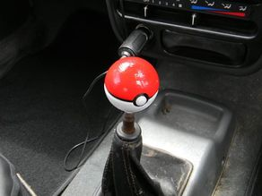 Pokemon Pokeball gear shifter knob without nut