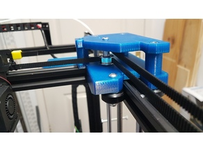 Tronxy X5S Gantry carriages and belt geometry alignment
