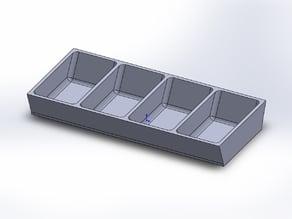 4bin Small fastener box