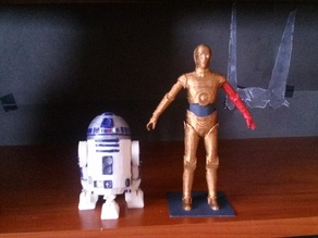R2D2 in C3PO scale