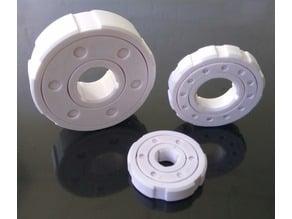 Parametric Caged Ball Bearing