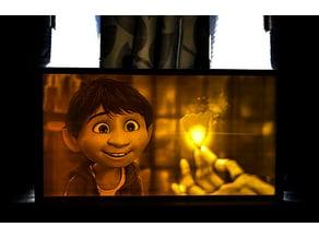 Coco (Movie) lithophane