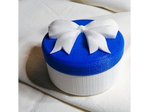 candy box with screw cap