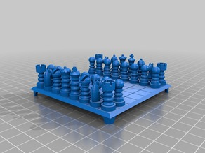 Micro Chess Table: Display Model