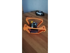 120mm fan Support for RAMPS 1.4