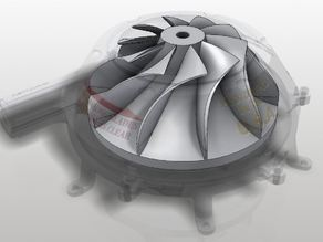 Centrifugal impeller / Turbine / Compressor