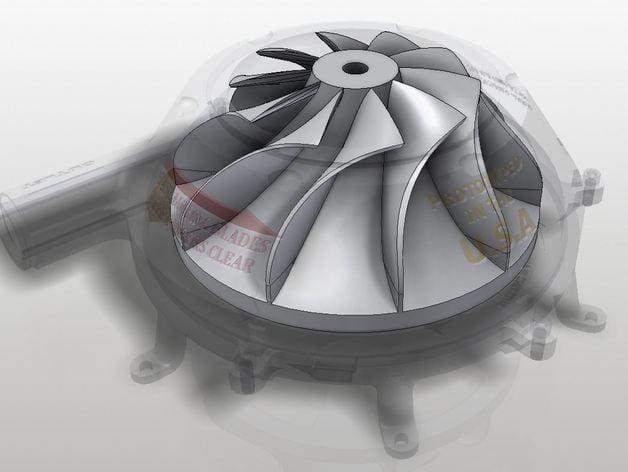 Centrifugal Impeller Turbine Compressor By Engi Irl