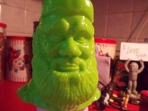 Santa Bust