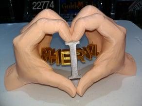 Heart Hands | I LOVE WHO?