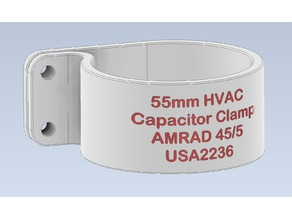 55mm HVAC Capacitor Clamp