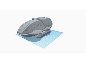 Teal Sport Star Trek Shuttle Cover