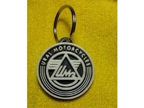 Ural Motorcycle Key Fob