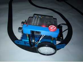 mBot Robot Stop Button