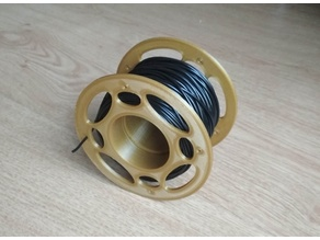 Small filament spool