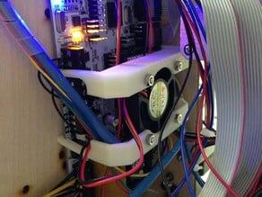RUMBA board fan mount