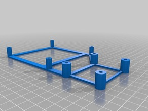 Anet A8 prusa-i3 mosfet-supportframe