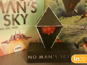 No Man's Sky Atlas (With Stand)