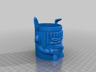 Tiki Bunny Shot glass