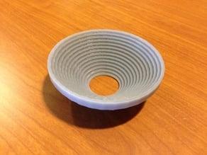 Strange Bowl: 16 cylindrical shells