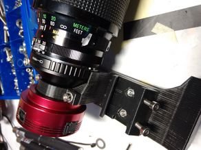 ZWO ASI Camera and DSLR Lens to Telescope Adapter