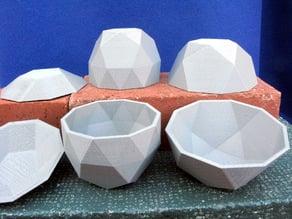 Three Johnson Solid Bowls