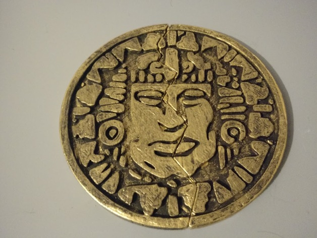 Legends of the hidden temple pendant of life full half by tannyn thingiview aloadofball Gallery