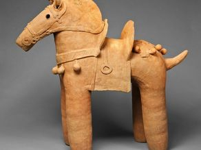 Horse, 5th-6th century from The Art Institute of Chicago