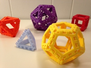 Polyhedra - Hinged Nets and Snap Tiles