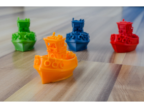 Little bathtub tug boat (visual benchy)
