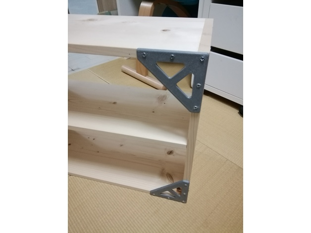 Shelf Bracket For 2x4 By Ts2a Thingiverse