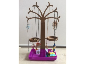 Arbre à bijoux (jewel tree), 2 sizes, with nests for small thing