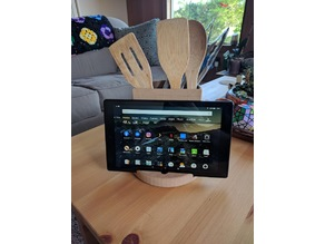 Kitchen Utensil Tablet Holder