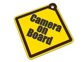 Camera On Board saftysign
