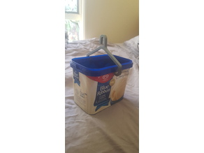 Clothesline Peg Basket for Ice-cream Tub