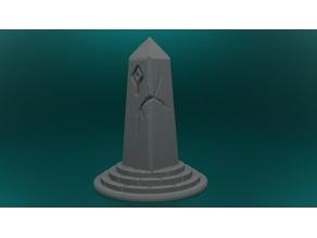 Obelisk Pillar, scatter terrain