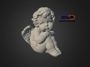 Angel Statue (Sculpture 3D Scan)