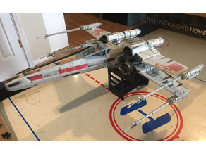 Star Wars POTF X-Wing Electronic Power FX Display Stand